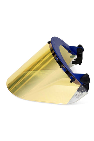 National Safety Apparel Metalized Gold Polycarbonate Hight Heat Faceshield (each)
