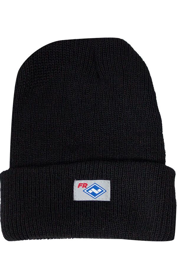 National Safety Apparel FR Black Knit Winter Hat, 35 cal/cm² (each)