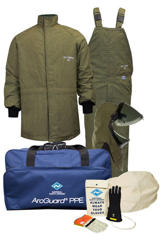 National Safety Apparel ArcGuard RevoLite Arc Flash Kit, Lift Front Hood, 40 cal/cm² (each)