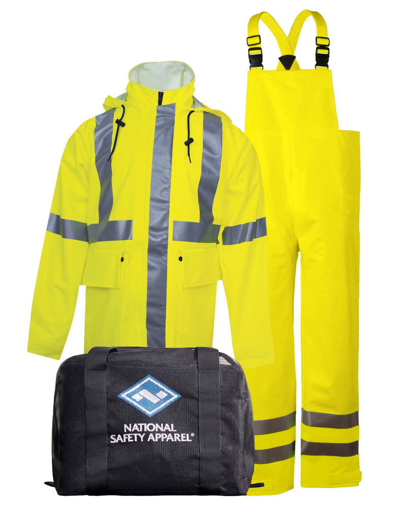 National Safety Apparel Arc H2O FR Rainwear Kit, Type R Class 3, 19 cal/cm² (each)