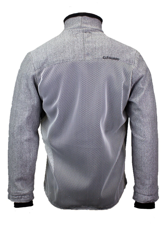 National Safety Apparel CutGUARD K5 1/4 Zip, Mesh Back (each)