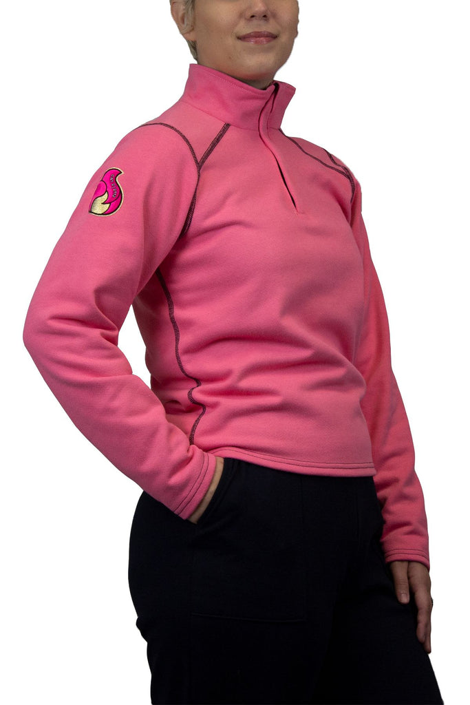 National Safety Apparel HauteWork Haut Pink FR Fleece, 19 cal/cm² (each)