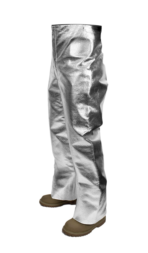 National Safety Apparel Carbon Armour Silvers 19 oz Aluminized Pants (each)
