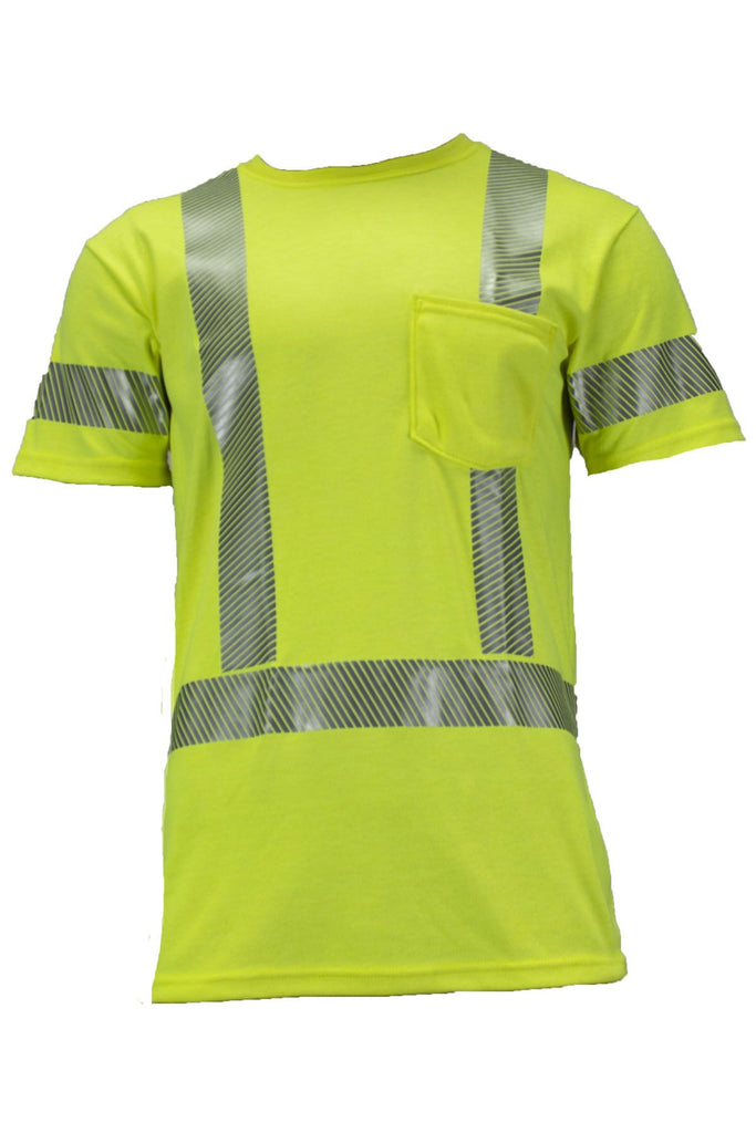 National Safety Apparel Vizable FR Dual Hazard T-Shirt, Type R Class 3, 10 cal/cm² (each)