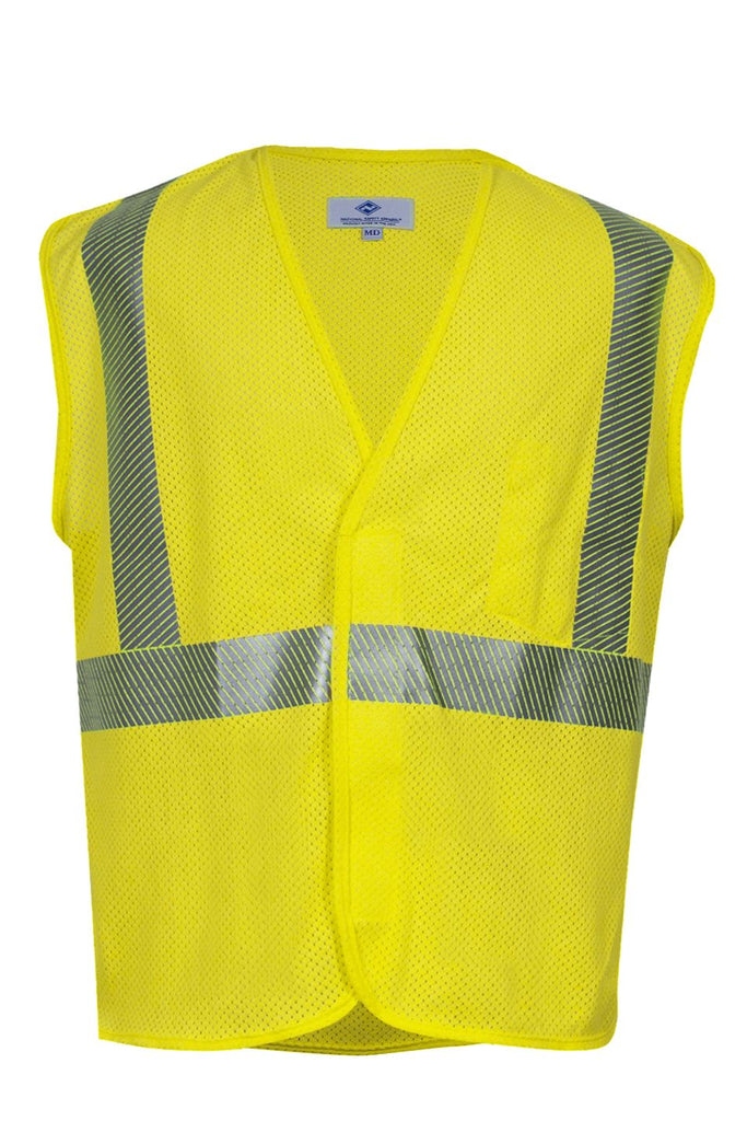 National Safety Apparel Vizable FR Hi-Vis Mesh Safety Vest, Type R Class 2, 4.6 cal/cm² (each)