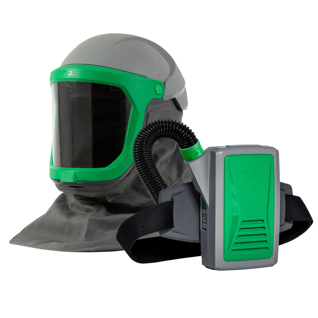 RPB Z-Link Respirator, Safety Lens, Shoulder Cape Zytec FR, Breathing Tube, PX5 PAPR, Spark Arrestor (each)