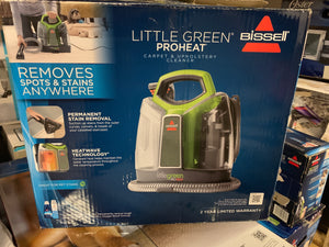 Bissell Little Green Pro Heat Carpet Upholstery Cleaner Philly