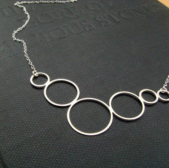 Caviar Necklace in Sterling Silver