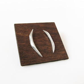 Fang Studs in Sterling Silver - Queens Metal