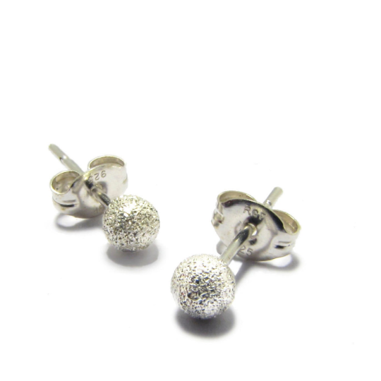 Lava Studs in Sterling Silver 1