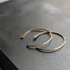 Tiny Moon Hoops in 14K Gold Fill - Queens Metal
