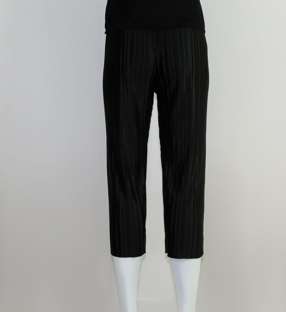 Black High Waist Ruffled Bottoms-Flare Pants-ALIPH-S/M-ALIPH
