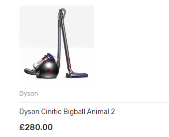 Dyson Cinitic Bigball Animal 2