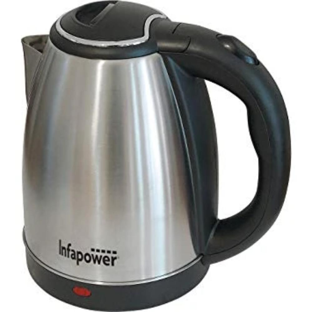 Infapower 1.8L Brushed Steel Cordless Kettle