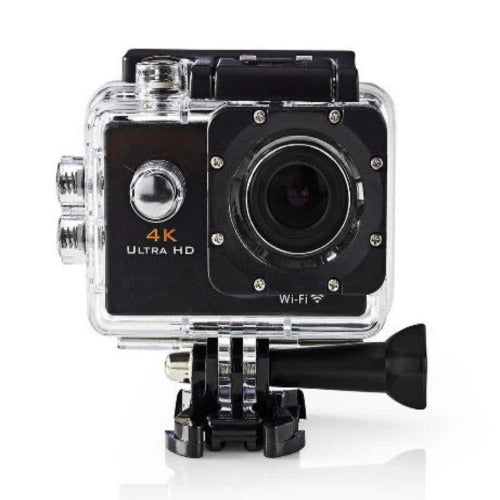 Nedis Action Camera | Ultra HD 4K | Wifi | Waterproof Case