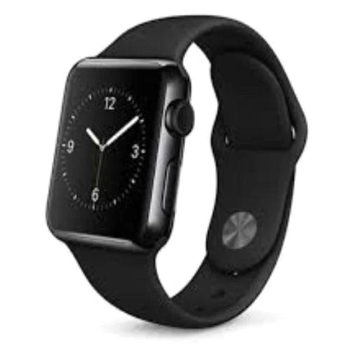 Smartwatch Apple Watch Series 2 38MM Stainless Steel Black Sports Band