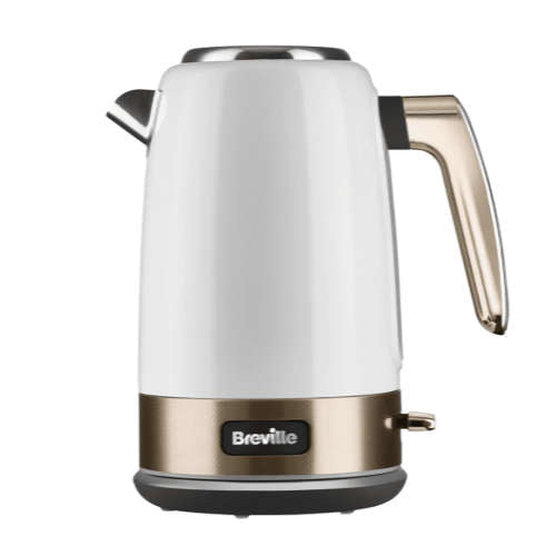 Breville VKT142 New York Collection White & Gold Kettle