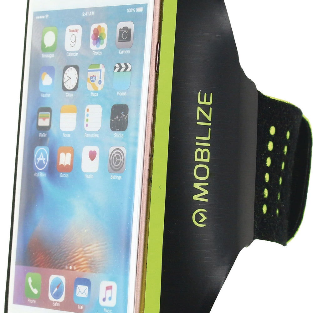 Mobilize Smartphone Arm Strap M Yellow