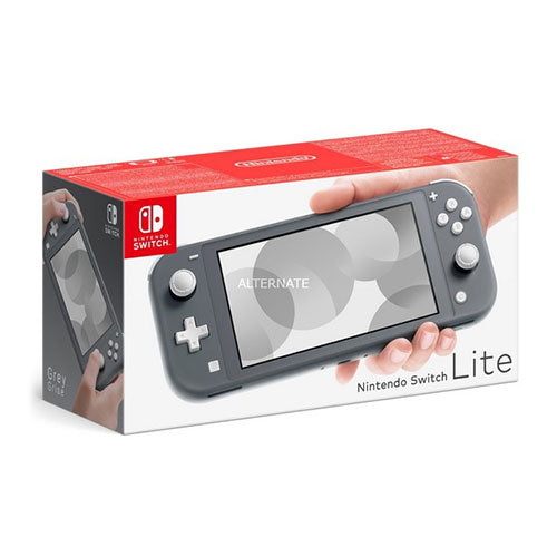 Nintendo Switch Lite Grey - Nintendo Gaming - nintendo  switch consoles