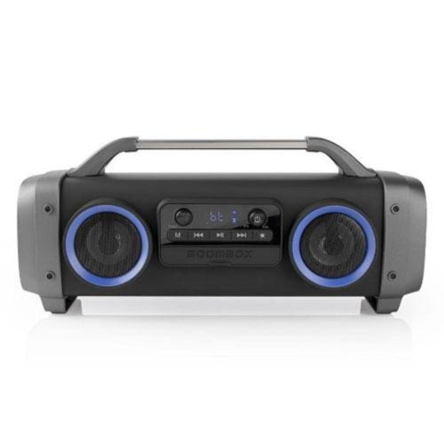 Party Boombox | Bluetooth® Wireless Technology | 3 Hours Playtime | Black