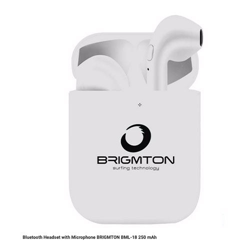 Wireless Headset With Microphone BRIGMTON BML-18 250 MAH