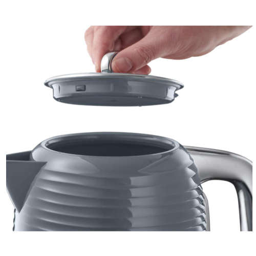 RUSSELL HOBBS 24363 3KW INSPIRE KETTLE IN GREY