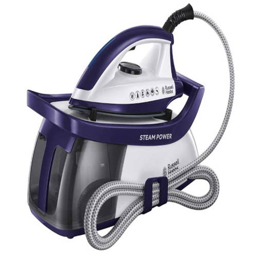 Russell Hobbs 24440 Steam Power 2600W Steam Generator Iron - Purple