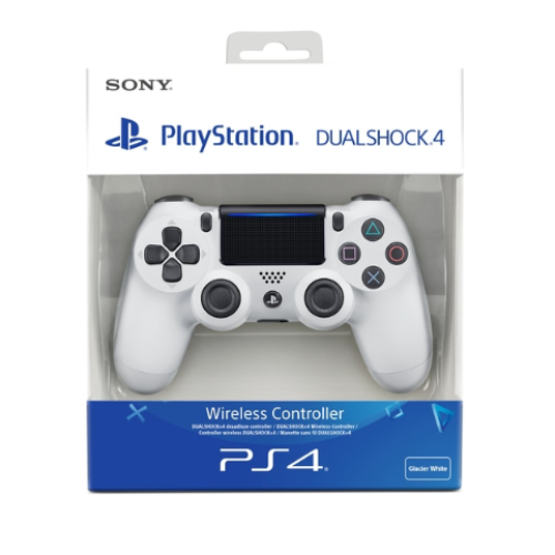 Sony Official PlayStation 4 Dualshock 4 Controller - Version 2 - Glacier White