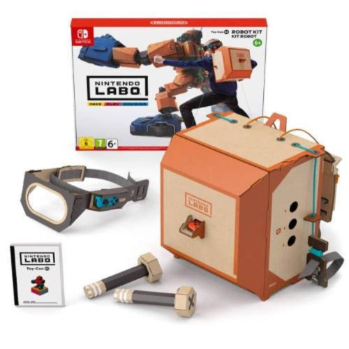 Nintendo Labo Officially Licensed: Robot Kit
