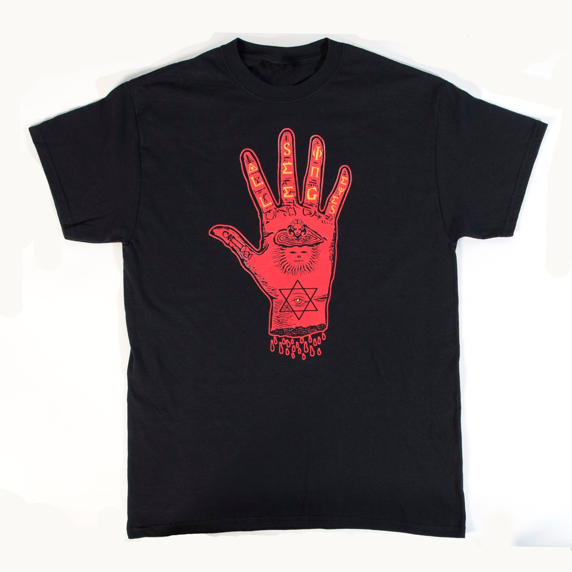"All-Seeing Eyes - ""All-Powerful Hand"" T-Shirt"