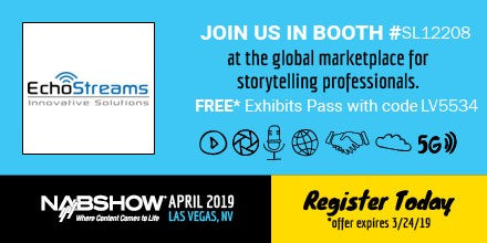 EchoStreams NAB Show 2019