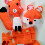 Crochet Foxy Set - Our Precious Moments