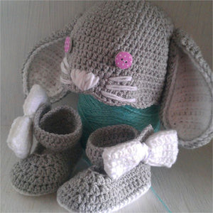Bunny Cuteness Crochet Outfit - Our Precious Moments