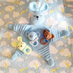 Bear Dou Dou & Rattles - Our Precious Moments