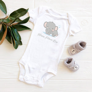 Father's Day Baby Vests - Our Precious Moments