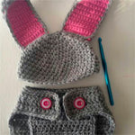 Bunny Bum Crochet Outfit - Our Precious Moments