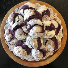 Load image into Gallery viewer, Ube Crinkles (1 Dozen)