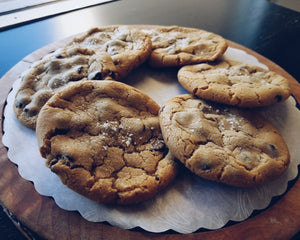 Sea Salt Chocolate Chip Cookies (1 Dozen)