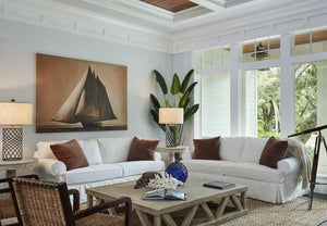 Knot This But That: Coastal Chic Living Room