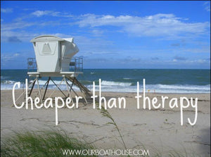 Coastal Quotes: Beach Therapy