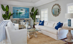 Room Of The Day: Island Elegance Living Room