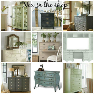 New in the shop: Coastal cabinets and chests