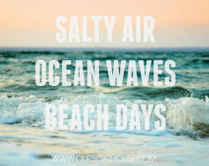 Coastal Quotes: Beach Waves