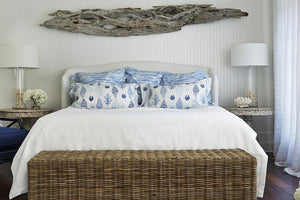 Room Of The Day: Slipcover Coastal Beach Bungalow Living Room