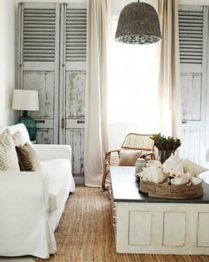 Inspirations On The Horizon: Shabby Chic Coastal Decor