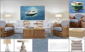Knot This But That: Slipcover Seagrass Living Room