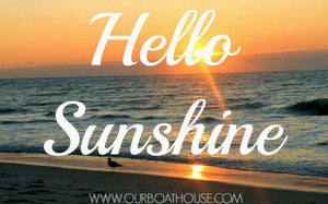Coastal Quotes: Hello Sunshine