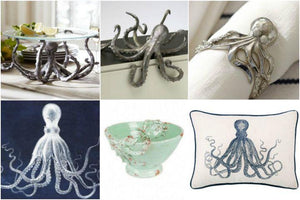 Round Up: Coastal Octopus Decor