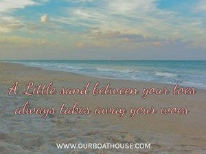 Coastal Quotes: Sandy Toes