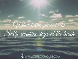 Coastal Quotes: Sunshine At The Beach
